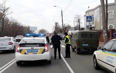 В Киеве полиция открыла огонь, преследуя пьяную женщину