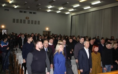 Днепропетровские депутаты отказались переименовывать город