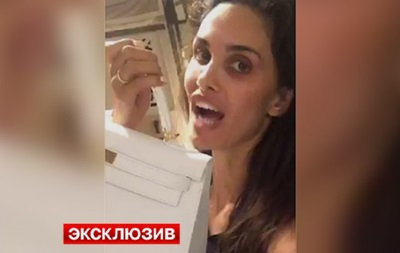 Футболист сборной России подарил жене на Рождество сумку за миллион