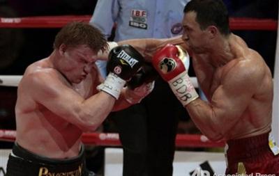 Промоутер: Если и организовывать бой Кличко – Поветкин, то не в следующем году