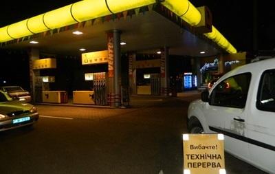 В Харькове вооруженные люди ограбили АЗС