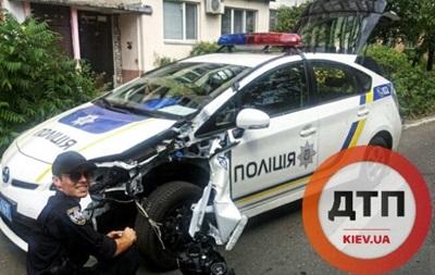 Патрульные Киева попали в более 80 ДТП