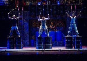 В пятницу в Киеве стартует знаменитое ритм-шум-шоу группы STOMP (обновлено)