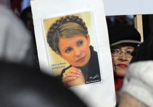 Голодовка Тимошенко вынудила медкомиссию начать обследование экс-премьера