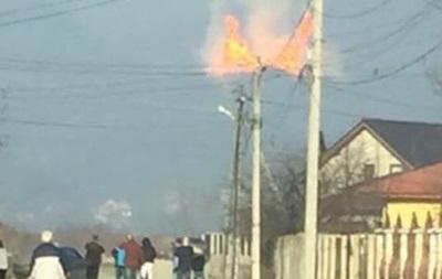 Названа причина аварии газопровода в Закарпатье