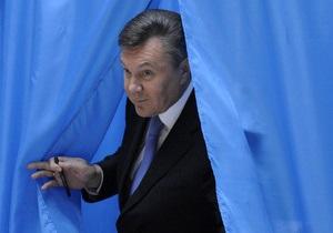 Янукович проголосовал за то, чтобы  люди жили лучше