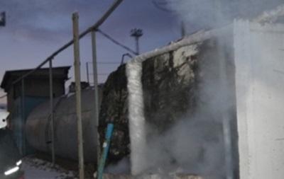 В Одессе горело вагонное депо