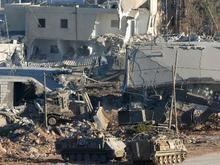 Израильские танки проводят карательную операцию в Газе