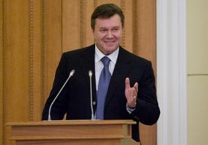 Янукович: Время размякшей Украины прошло