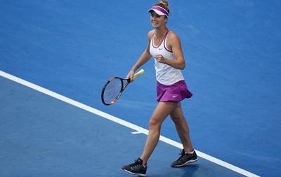 Українська тенісистка: Засмутилася, що Вільямс відмовилася грати