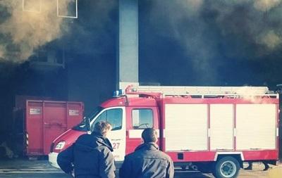 В Киеве горел торговый центр Ocean Plaza