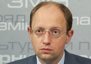 Местные выборы: Яценюк назвал день голосования демократичным