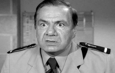 Скончался партнер Луи де Фюнеса по фильмам о жандармах