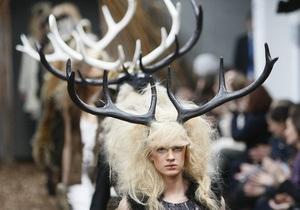 Фотогалерея: Британские дизайнеры наставили рога моде