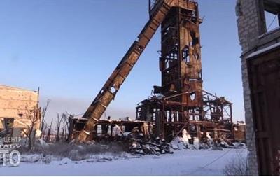 Бойцы показали шахту  Бутовка : видео с передовой