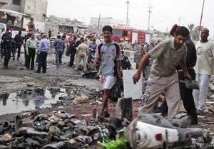 Очередной взрыв в Багдаде унес жизни не менее пяти полицейских