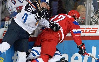 Хоккей: Сборная Финляндии обыграла Россию в финале МЧМ