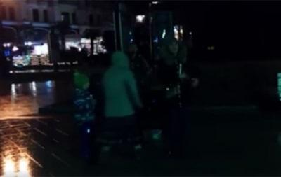 В Ялте в темноте спели украинские колядки: видео