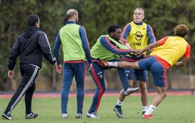 Футболисты голландского клуба подрались на тренировке