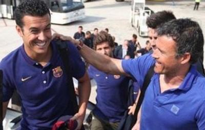Луис Энрике отказался возвращать Педро в Барселону