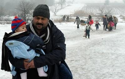Дорога смерти : как мигранты справляются с морозами