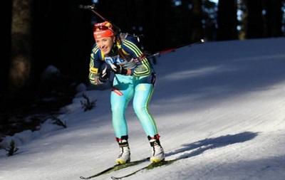 Биатлон: Две украинские спортсменки в десятке лучших в гонке преследования