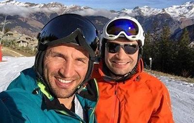 Кличко отправился кататься на лыжах