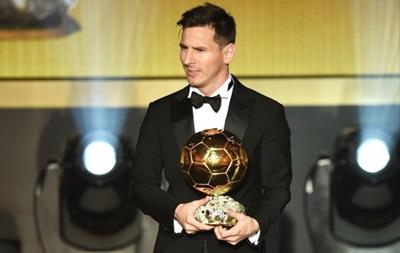 Месси удивил выбором костюма на вручение премии Золотой мяч