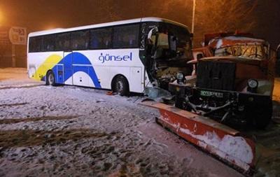 Полиция сообщает об ухудшении ситуации на дорогах
