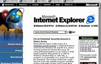 Microsoft припиняє підтримку Internet Explorer