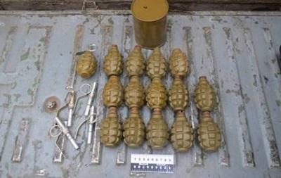 СБУ обнаружила три тайника с боеприпасами в зоне АТО