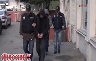 Появилось видео задержания россиян в Турции