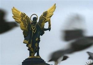 Скульптуру архангела Михаила на Майдане Незалежности могут заменить