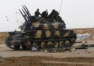 ВВС Франции уничтожили танки в Бенгази