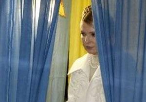 По данным обработки 82,65% протоколов Тимошенко уступает Януковичу 2,65%
