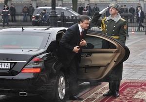 Янукович подтвердил, что планирует осуществить визит в Брюссель