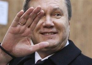 Янукович доволен сотрудничеством с МВФ