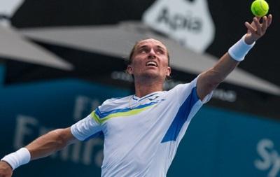 Долгополов проигрывает в четвертьфинале и покидает турнир в Сиднее
