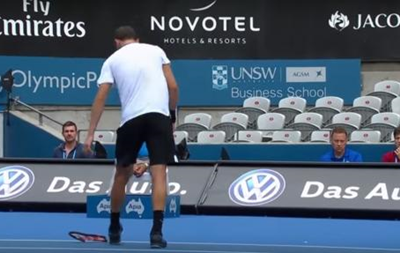 Долгополов вивів із себе відомого тенісиста