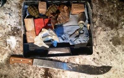 У киевлянина нашли гранаты и взрывчатку