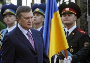 Янукович поздравил шахтеров страны с профессиональным праздником