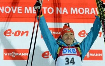 Украинки выиграли эстафету Кубка мира по биатлону