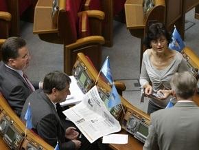 Партия регионов готова голосовать за проект о соцстандартах, поданный фракцией Литвина