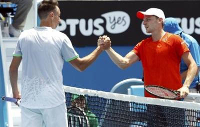 Стаховський не зміг пробитися до другого кола Australian Open