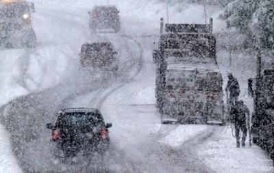 В Украине из-за непогоды закрыли еще одну трассу
