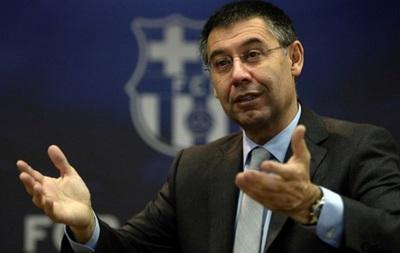 Президент Барселоны выступил за изменение футбольных правил