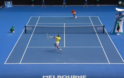 Austalian Open: Шикарный розыгрыш от Рафаэля Надаля