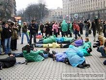 30 человек на Майдане передали FUCK для Буша