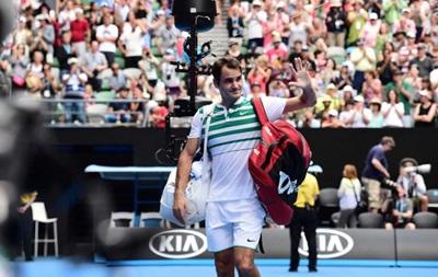 Федерер: Долгополов не дуже добре бачив м яч
