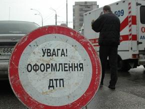 В Симферополе столкнулись пять автомобилей